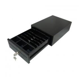 Денежный ящик Форт 2М PUSH (черный)